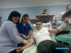 В Израиль прибывают пациенты, раненые на Майдане