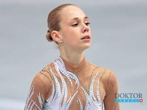 Российская фигуристка лечится в Израиле от анорексии