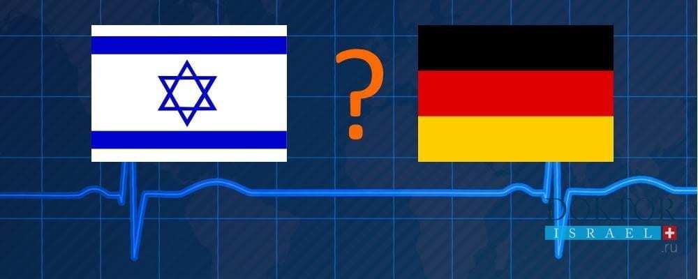 Израиль или Германия: где выгоднее лечиться?