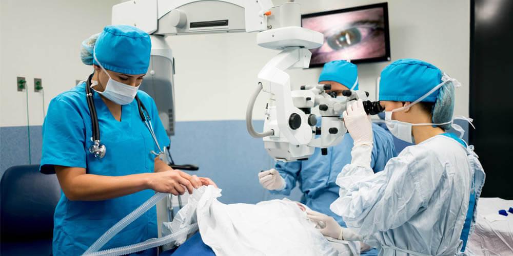 Хирургическое лечение катаракты в Израиле