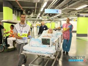 Больница Рамбам готова к любым чрезвычайным происшествиям