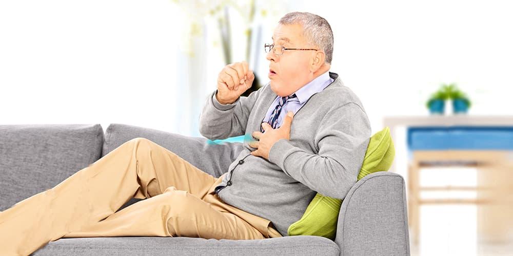 Как проявляется хроническая обструкция легких