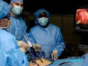 Ход эндоскопической операции