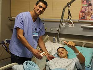 операция в клинике Хадасса