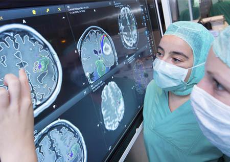 Нейронавигационная визуализация головного мозга