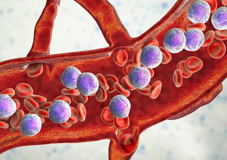 3D-иллюстрация раковых клеток