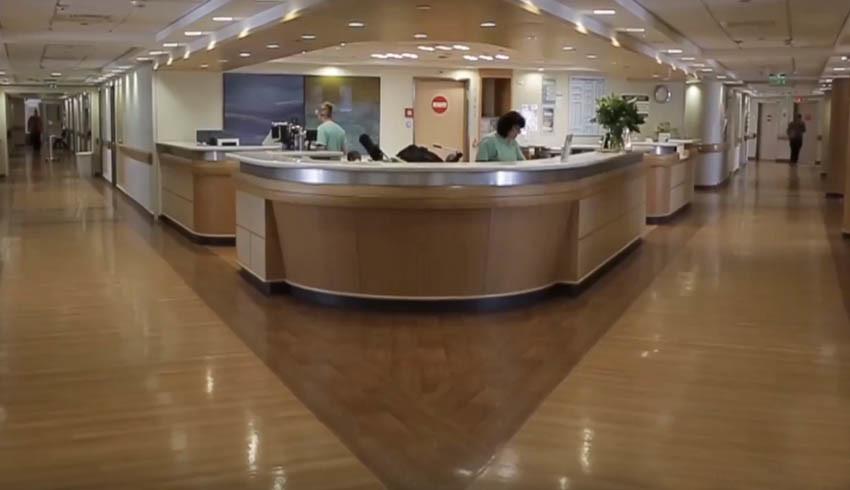 Регистратура больницы Ихилов
