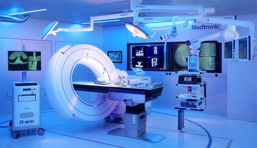 Аппарат O-Arm в клинике Ассута