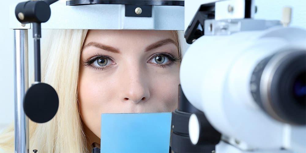 Исследование зрения до витрэктомии