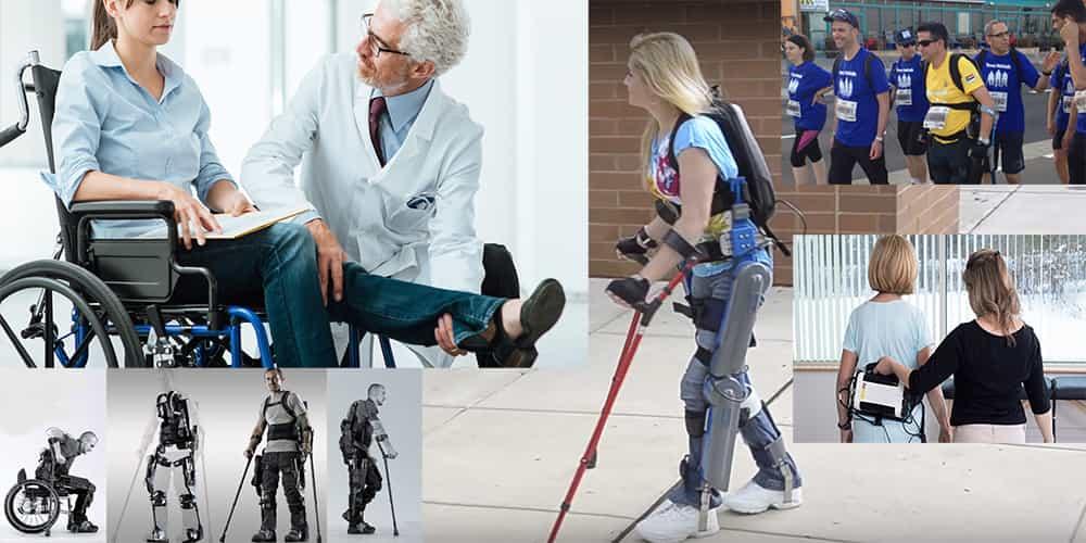 Экзоскелет Rewalk при парализации